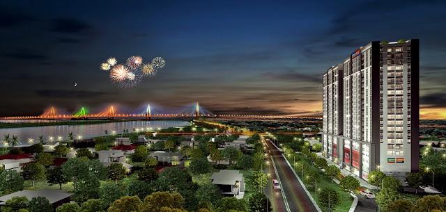 Phối cảnh dự án Tây Hồ River View