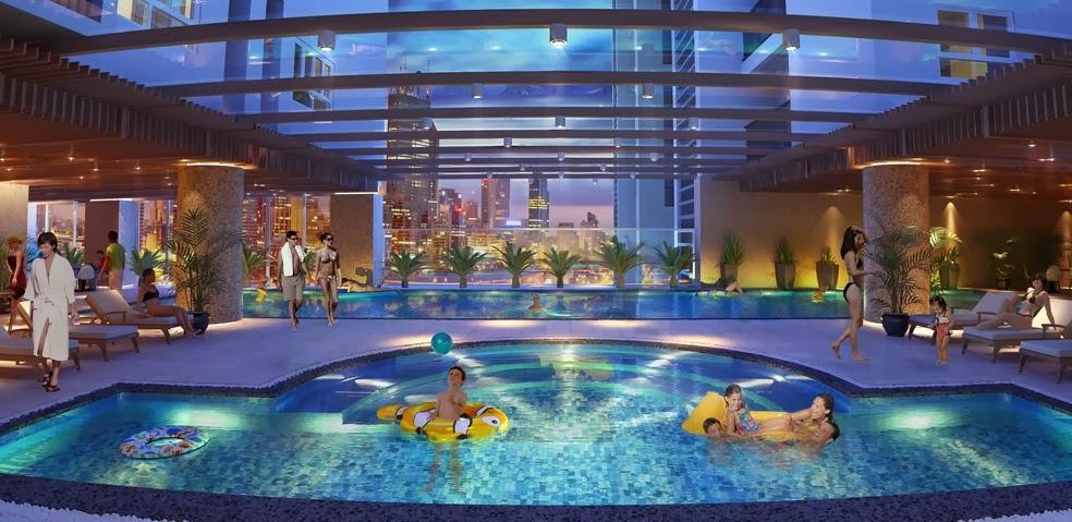 Bể bơi chung cư Hồ Gươm Plaza