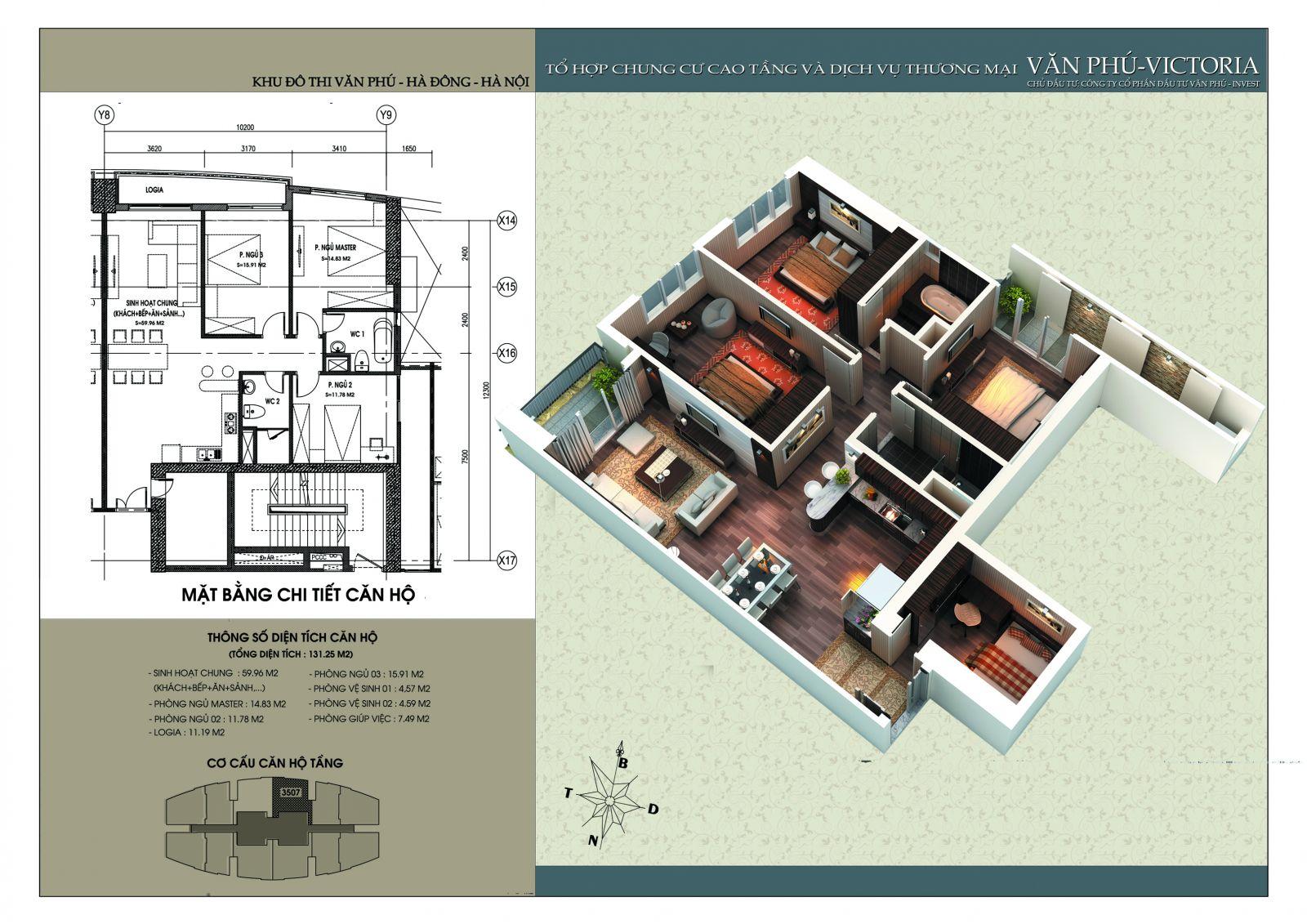 Căn 131.25 m2