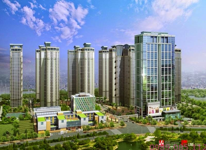 Tổ hợp căn hộ cao cấp Goldmark City