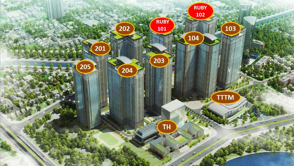Thiết kế dự án chung cư goldmark city