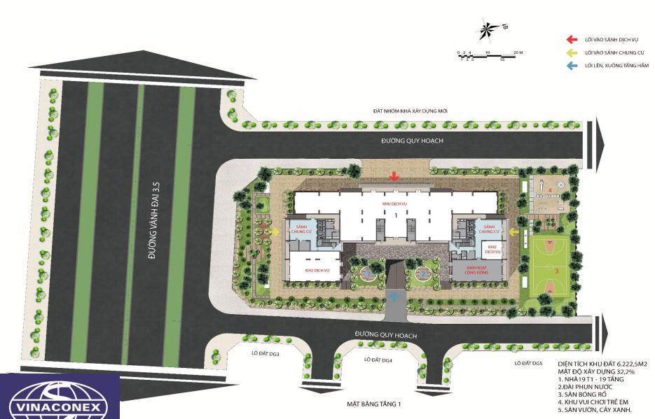 Bản đồ quy hoạch dự án lucky house kiến hưng