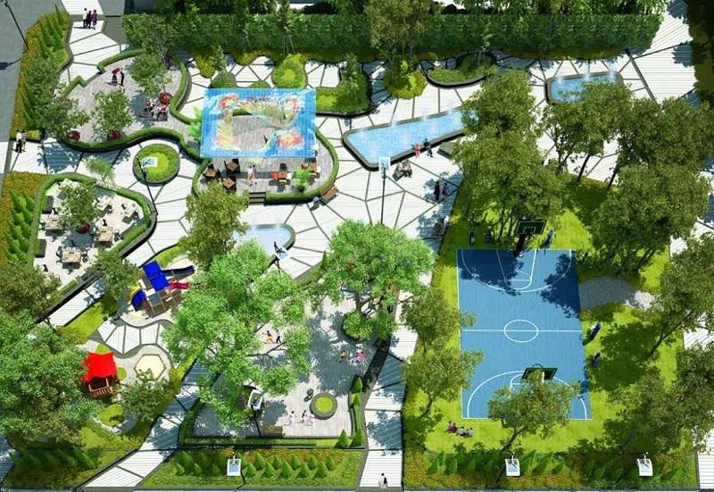 Tiện ích nội khu dự án GoldSeason 47 Nguyễn Tuân