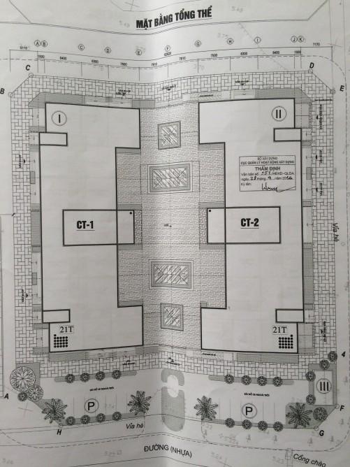 Mặt bằng tổng thể chung cư 987 Tam Trinh