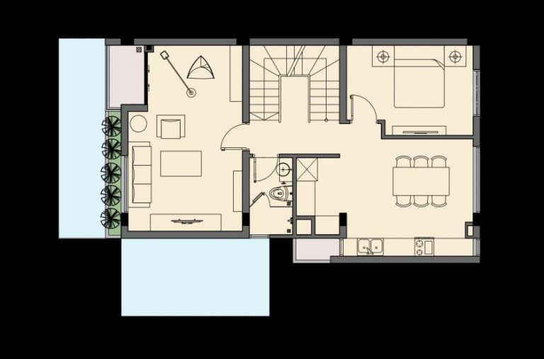 Tầng 2 An Phú Shop Villa