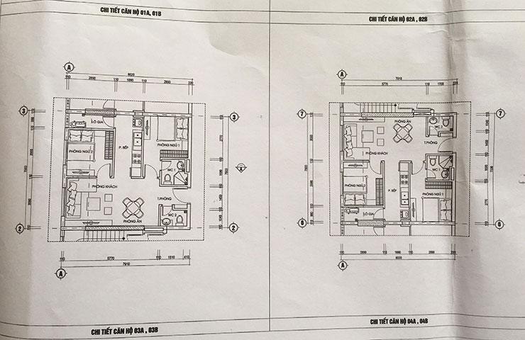 Căn hộ 03 – 04 chung cư 987 Tam Trinh