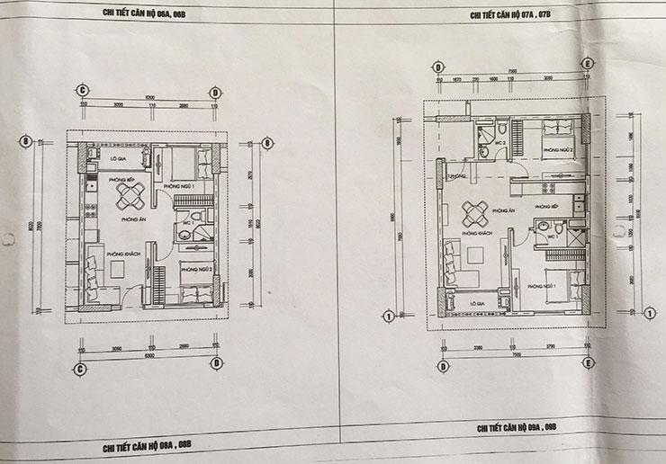Căn hộ 08 – 09 của dự án 987 Tam Trinh
