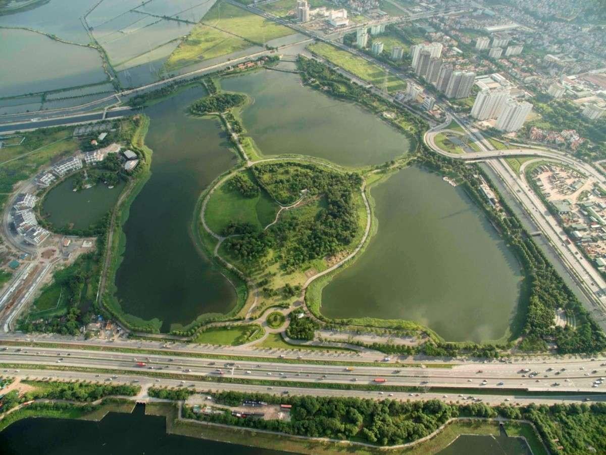 Công viên hồ Yên Sở