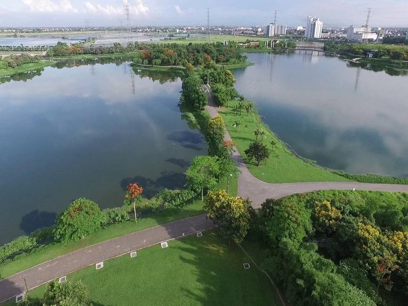 Hồ công viên Yên Sở