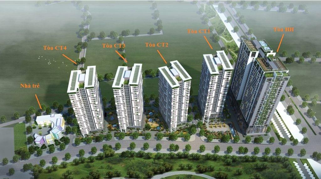 Cụm công trình thương mại chung cư 43 Phạm Văn Đồng