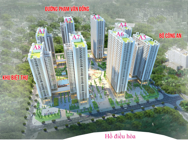 Tổng thể dự án An Bình City