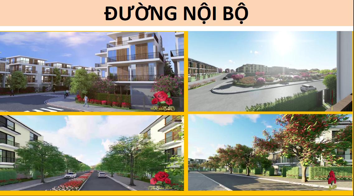 Đường nội bộ dự án the Eden Rose Thanh Liệt