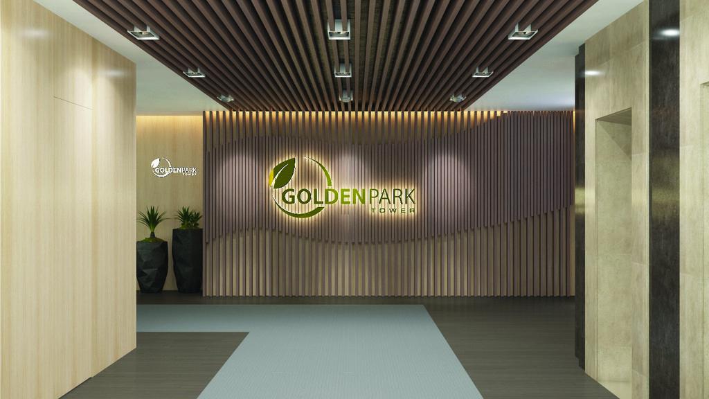 Sảnh vào dự án Golden Park
