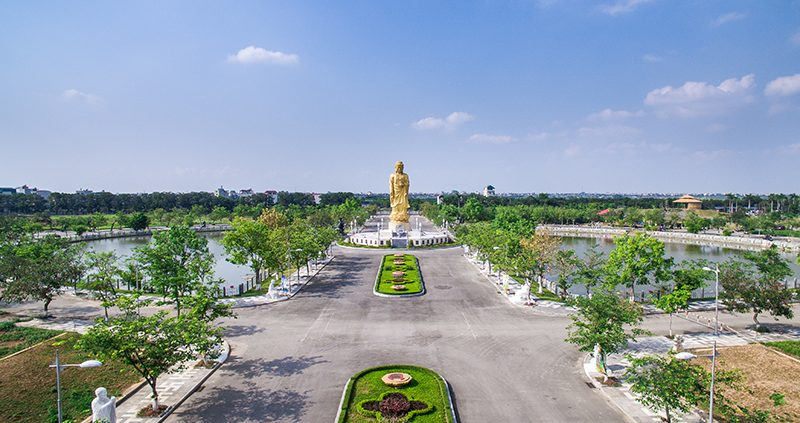 Hình ảnh thực tế ngôi chùa Đại Từ Ân – Học viện phật giáo lớn nhất Việt Nam.