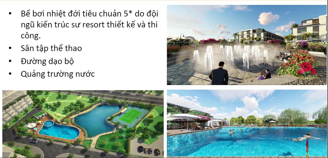 Tiện ích dự án The Eden Rose Thanh Liệt