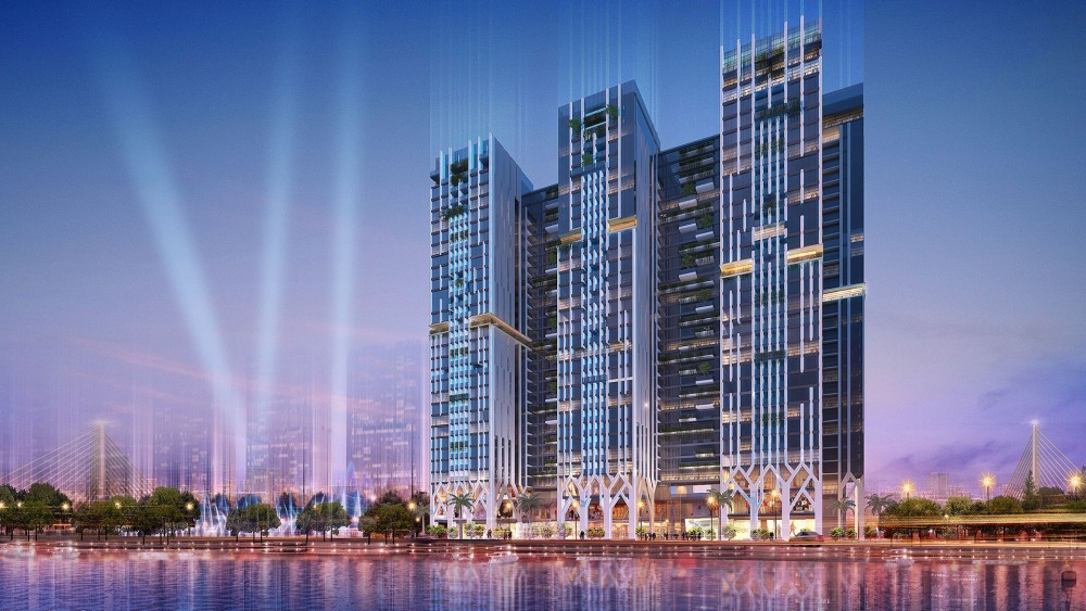 Phối cảnh Chung cư Five Star Residence