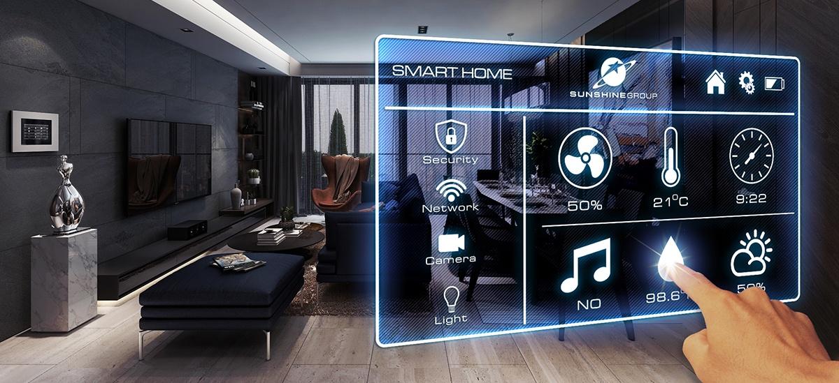 Hệ thống Smart Home hiện đại chung cư sunshine golden river
