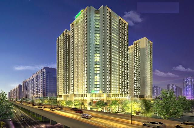 Phối cảnh chung cư Eco Green City