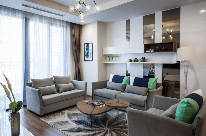 Thiết kế căn hộ mẫu chung cư Viwaseen Tố Hữu