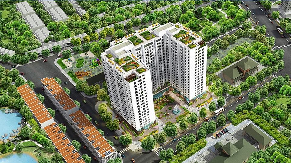 Phối cảnh tổng quan dự án Đại Kim Building
