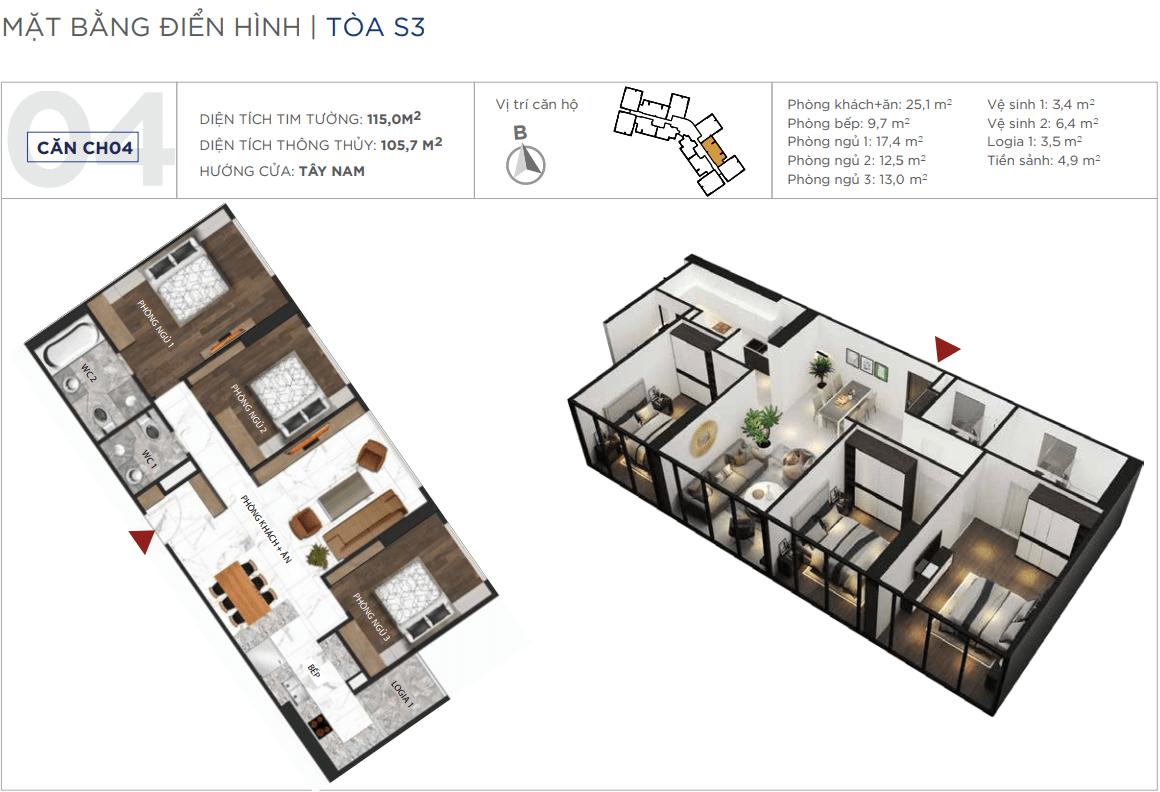 Thiết kế căn hộ 04