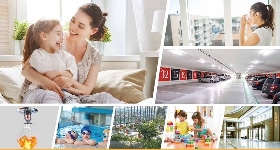 Tiện ích dự án chung cư Hà Đô Parkside