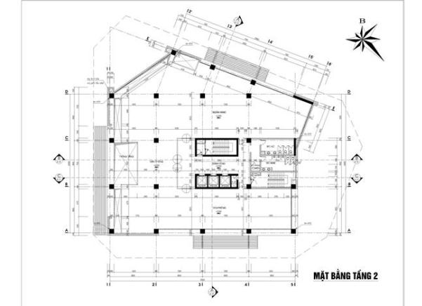 Mặt bằng tầng 2 chung cư Hà Đô Parkside