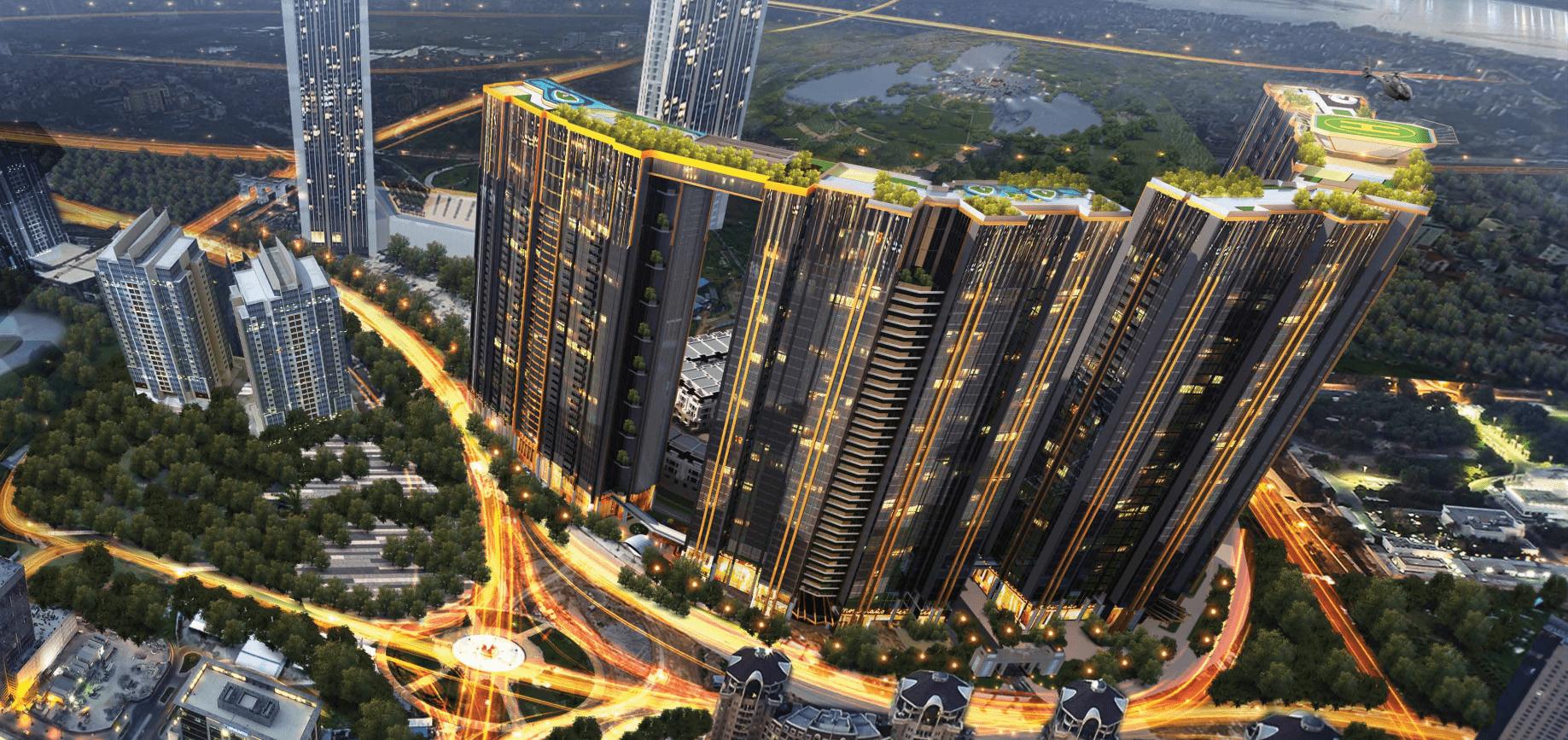 Kết nối hạ tầng giao thông chung cư sunshine city ciputra