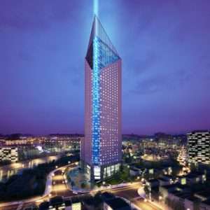 Phối cảnh dự án Tháp Doanh Nhân Tower