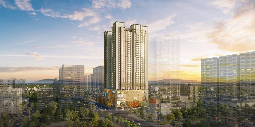 Phối cảnh dự án BRG Park Residence Lê Văn Lương
