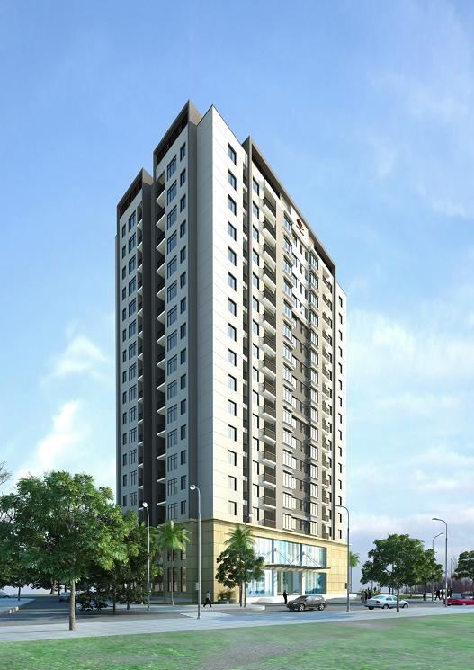 Phối cảnh dự án chung cư CC1 Hà Đô Parkside