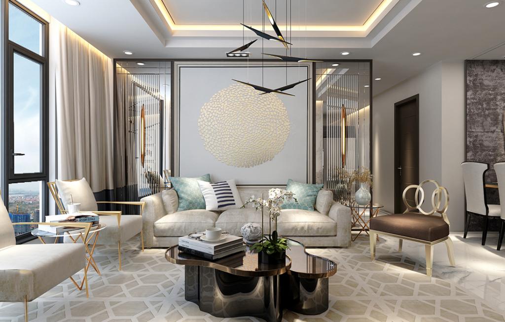 Thiết kế nội thất sang trọng Chung cư Sunshine City Ciputra