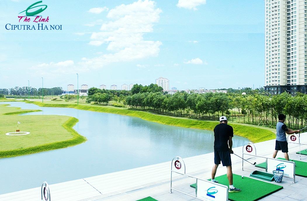 Sân Golf Chung cư The Link 345 Ciputra
