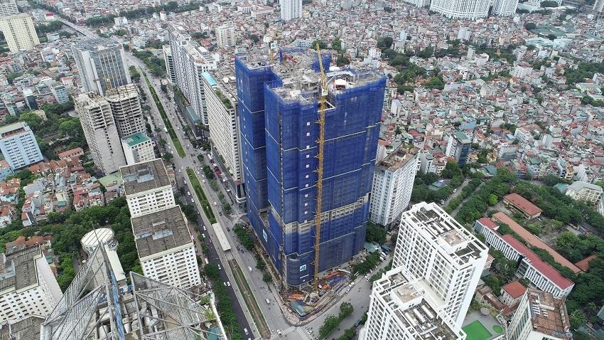 Cập nhật tiến độ xây dựng chung cư BRG Park Residence tháng 10/2020