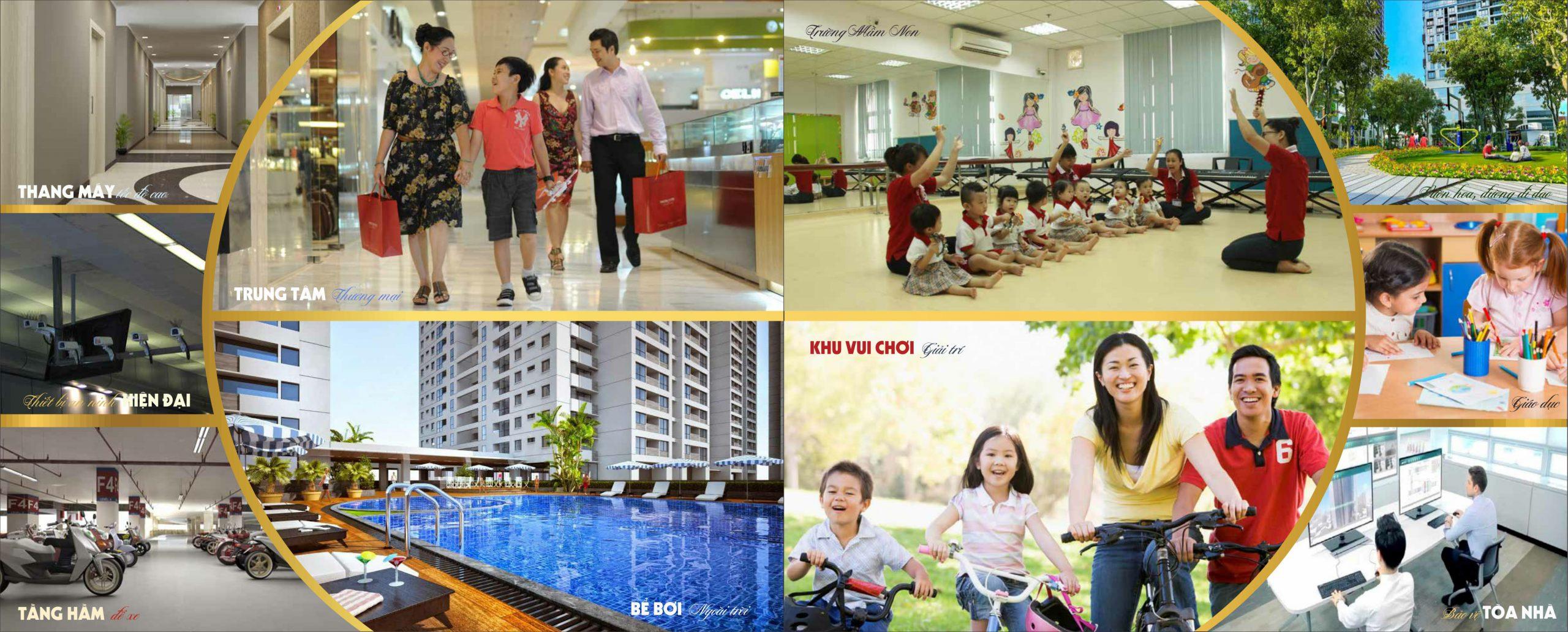 Tiện ích dự án chung cư CT36 Xuân La