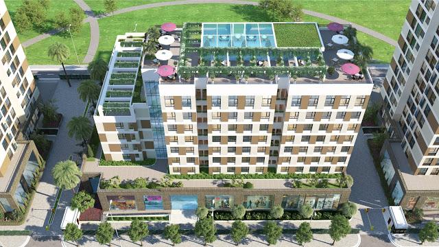 Chuỗi tiện ích tầng mái Chung cư Valencia Garden Việt Hưng