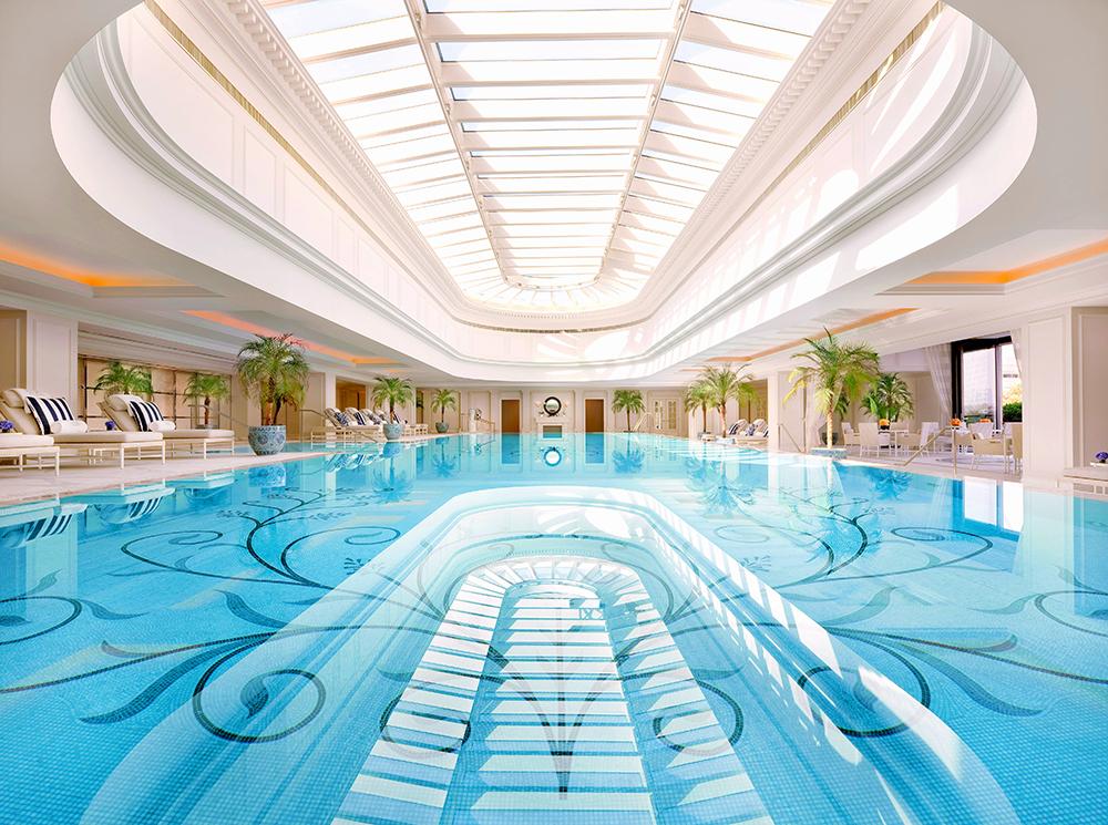 Bể bơi 4 mùa chung cư Tokyo Tower