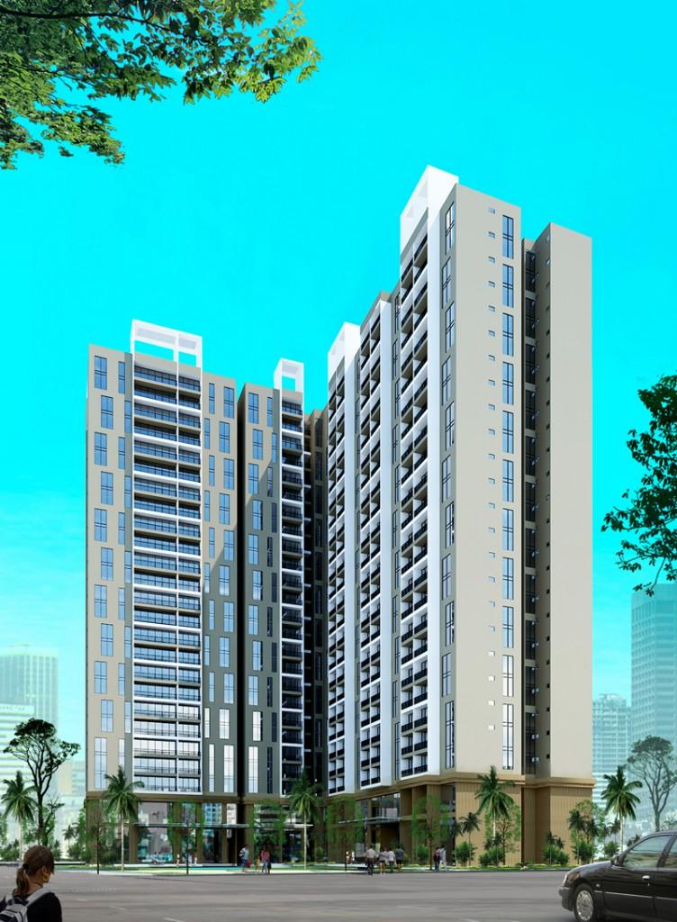 Phối cảnh dự án Chelsea Residences – E2 Yên Hòa