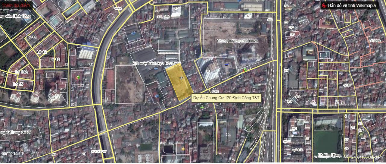 Kết nối khu vực Hoàn hảo là điểm cộng củaDự án 120 Định Công
