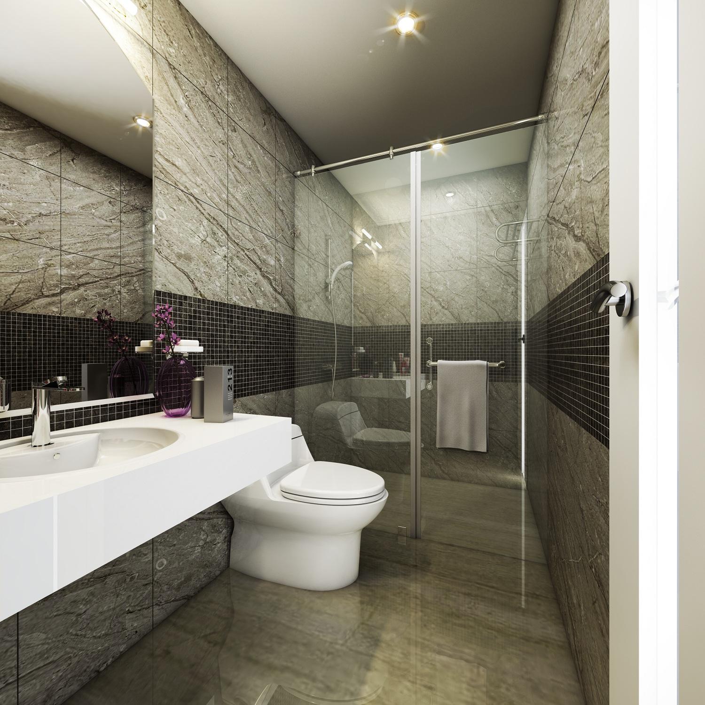 Phòng vệ sinh chung cư Chelsea Residences