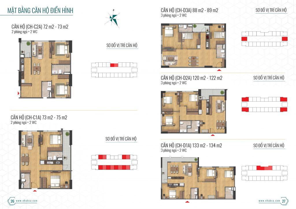 thiết kế căn hộ chung cư 43 phạm văn đồng