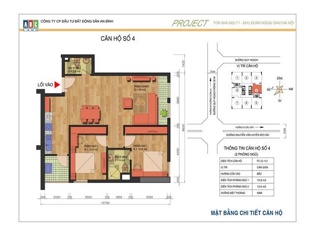 Thiết kế căn hộ số 4