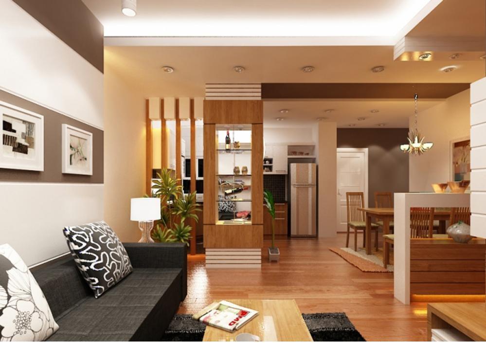 Không gian nội thất căn hộ