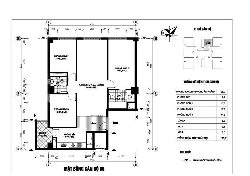 Thiết kế căn hộ 06