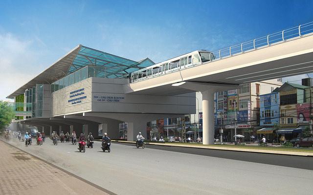 Dự án đường sắt đô thị Nhổn - Ga Hà Nội