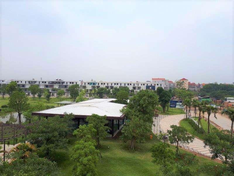 Cây xanh nhà điều hành dự án Nam 32