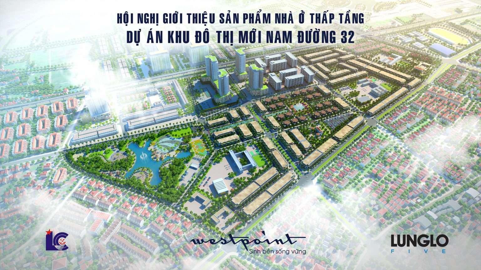 Phối cảnh tổng thể dự án Nam 32