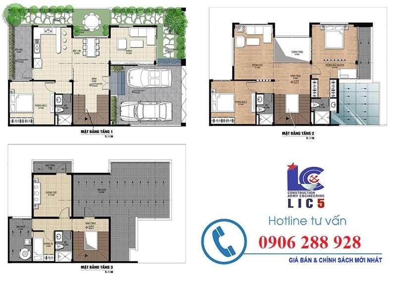 Thiết kế biệt thự Nam 32