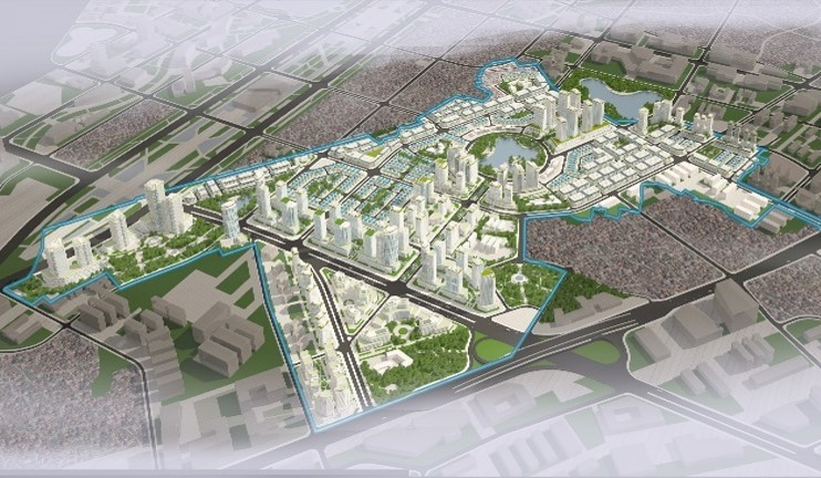Quy hoạch khu đô thị kim chung di trạch