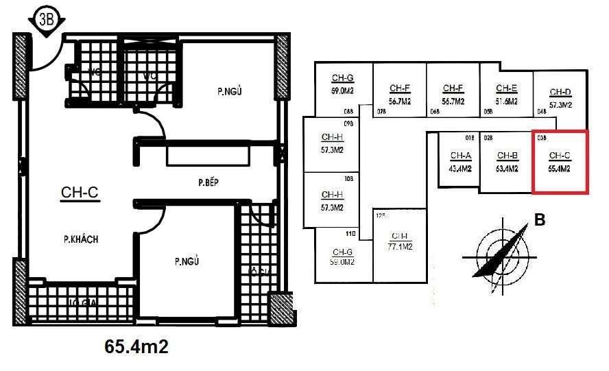 thiet-ke-can-ho-65,4-m2